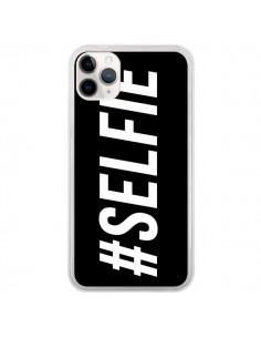 Coque iPhone 11 Pro Hashtag Selfie Noir Horizontal - Jonathan Perez