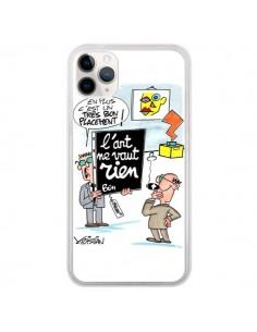Coque iPhone 11 Pro L'art ne vaut rien - Kristian