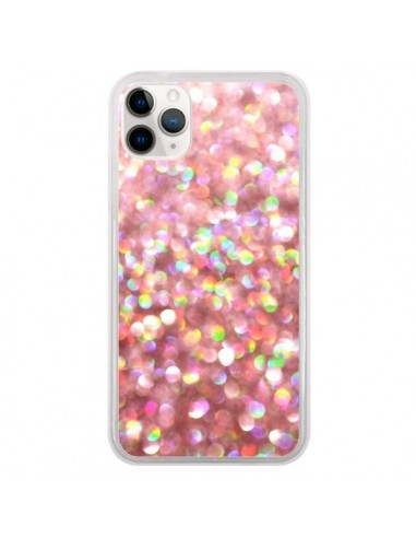 Coque iPhone 11 Pro Paillettes Pinkalicious - Lisa Argyropoulos