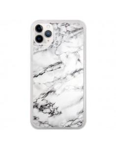 Coque iPhone 11 Pro Marbre Marble Blanc White - Laetitia