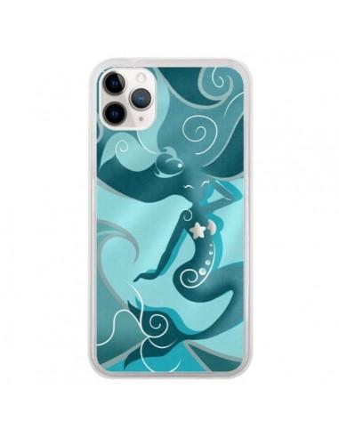 Coque iPhone 11 Pro La Petite Sirene Blue Mermaid - LouJah