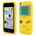 Coque Game Boy en silicone pour iPhone 5C