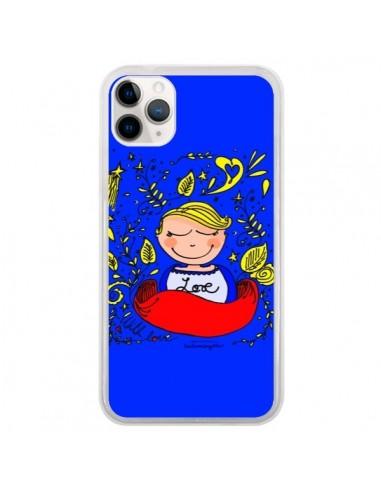 Coque iPhone 11 Pro Love Fille -...