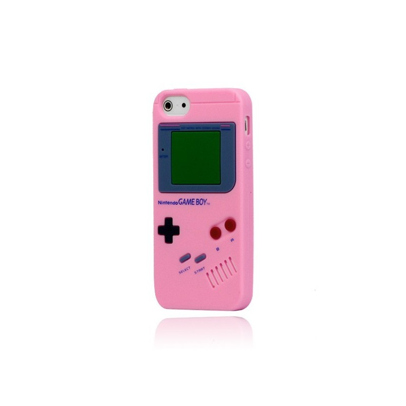 coque game boy en silicone pour iphone 5c. Black Bedroom Furniture Sets. Home Design Ideas