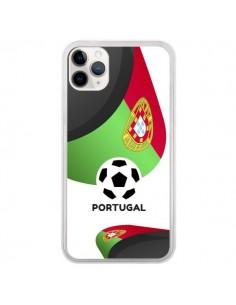 Coque iPhone 11 Pro Equipe Portugal Football - Madotta