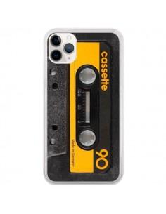 Coque iPhone 11 Pro Yellow Cassette K7 - Maximilian San