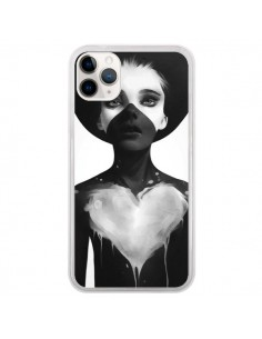 Coque iPhone 11 Pro Fille Coeur Hold On - Ruben Ireland