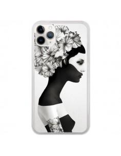 Coque iPhone 11 Pro Marianna Fille Fleurs - Ruben Ireland et Jenny Liz Rome