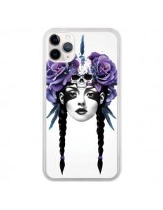 Coque iPhone 11 Pro Fille Fleurs Warrior - Ruben Ireland