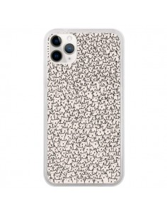 Coque iPhone 11 Pro A lot of cats chat - Santiago Taberna