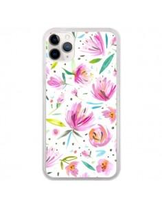 Coque iPhone 11 Pro Painterly Waterolor Texture - Ninola Design