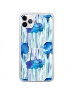 Coque iPhone 11 Pro Rain Stitches Neon - Ninola Design