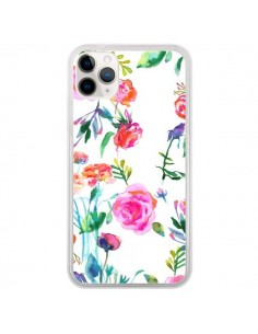 Coque iPhone 11 Pro Raining Clouds Blue - Ninola Design
