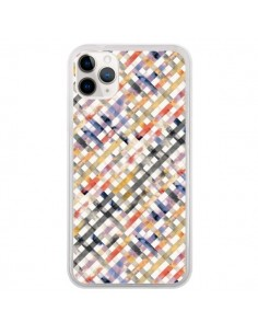 Coque iPhone 11 Pro Tropical Palms Blue - Ninola Design