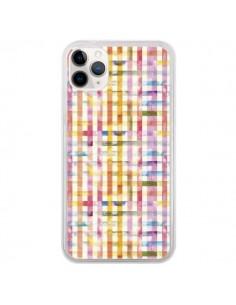 Coque iPhone 11 Pro Vichy Black Yellow - Ninola Design