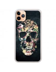 Coque iPhone 11 Pro Max Skull Vintage Tête de Mort - Ali Gulec