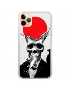 Coque iPhone 11 Pro Max Splash Skull Tête de Mort - Ali Gulec