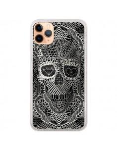 Coque iPhone 11 Pro Max Skull Lace Tête de Mort - Ali Gulec