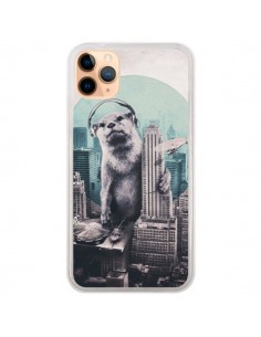Coque iPhone 11 Pro Max Loutre Dj New York - Ali Gulec