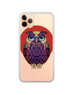 Coque iPhone 11 Pro Max Chouette Hibou Owl Transparente - Ali Gulec