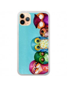 Coque iPhone 11 Pro Max Famille Chouettes - Annya Kai