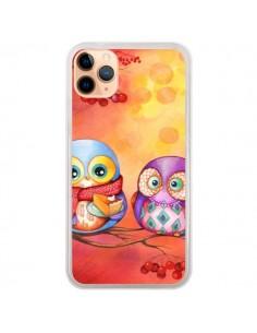 Coque iPhone 11 Pro Max Chouette Arbre - Annya Kai