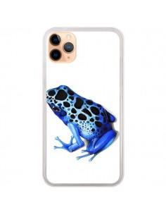 Coque iPhone 11 Pro Max Grenouille Bleue - Annya Kai