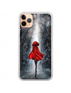 Coque iPhone 11 Pro Max Le Petit Chaperon Rouge Bois - Annya Kai
