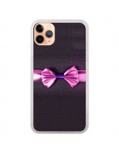 Coque iPhone 11 Pro Max Noeud Papillon Kitty Bow Tie - Asano Yamazaki