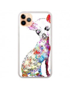 Coque iPhone 11 Pro Max Chien Chihuahua Graffiti - Bri.Buckley