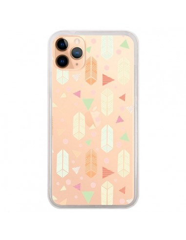 Coque iPhone 11 Pro Max Arrow Fleche Azteque Transparente - Claudia Ramos