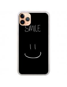Coque iPhone 11 Pro Max Smile Souriez Noir - Jonathan Perez