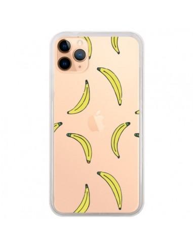 Coque iPhone 11 Pro Max Bananes Bananas Fruit Transparente - Dricia Do