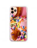 Coque iPhone 11 Pro Max Donuts Rose Candy Bonbon - Laetitia