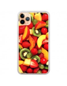 Coque iPhone 11 Pro Max Fruit Kiwi Fraise - Laetitia