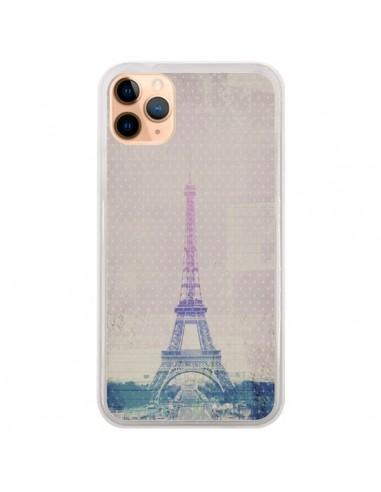 Coque iPhone 11 Pro Max I love Paris Tour Eiffel - Mary Nesrala