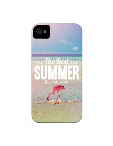 Coque Best Summer Été pour iPhone 4 et 4S - Eleaxart