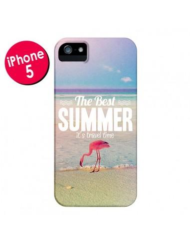 Coque Best Summer Été pour iPhone 5 et 5S - Eleaxart