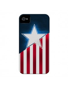 Coque Captain America pour iPhone 4 et 4S - Eleaxart