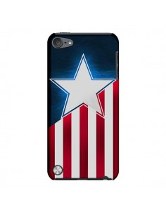 Coque Captain America pour iPod Touch 5 - Eleaxart