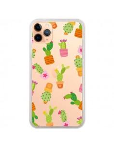 Coque iPhone 11 Pro Max Cactus Méli Mélo Transparente - Nico