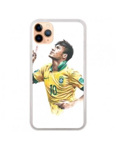 Coque iPhone 11 Pro Max Neymar Footballer - Percy