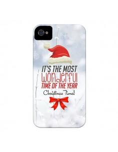 Coque Joyeux Noël pour iPhone 4 et 4S - Eleaxart