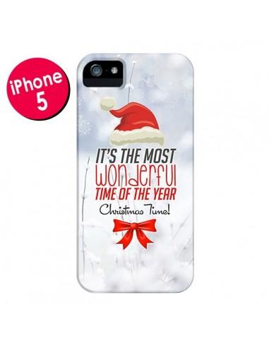 Coque Joyeux Noël pour iPhone 5 et 5S - Eleaxart