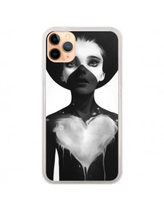 Coque iPhone 11 Pro Max Fille Coeur Hold On - Ruben Ireland