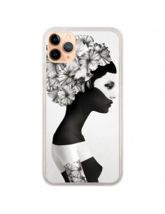 Coque iPhone 11 Pro Max Marianna Fille Fleurs - Ruben Ireland et Jenny Liz Rome