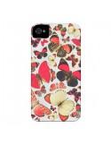 Coque Papillons pour iPhone 4 et 4S - Eleaxart