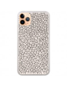 Coque iPhone 11 Pro Max A lot of cats chat - Santiago Taberna