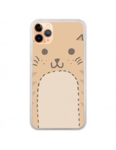 Coque iPhone 11 Pro Max Big Cat chat - Santiago Taberna