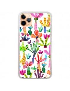 Coque iPhone 11 Pro Max Overlapped Watercolor Dots - Ninola Design